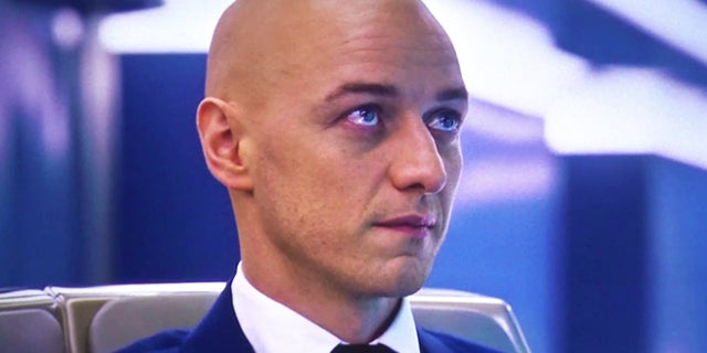 professor x bald
