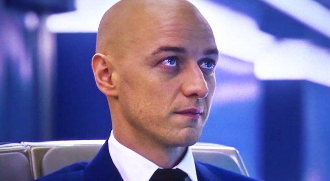 professor x bald