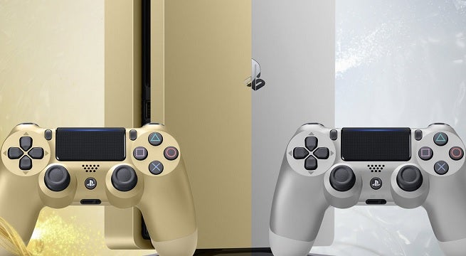 ps4 gold silver