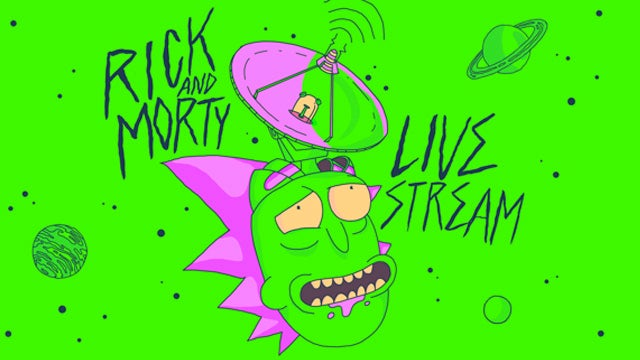 Rick-And-Morty-Live-Stream