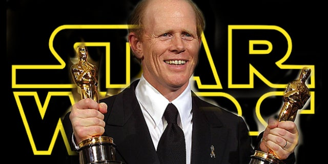Ron Howard Oscar Winning Star Wars Han Solo Director