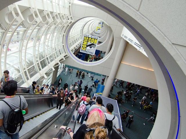 SDCC-escalator