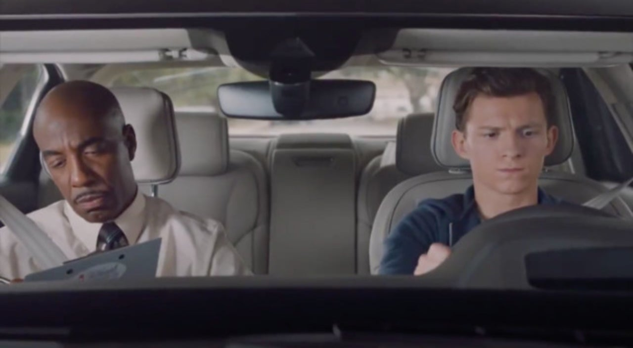 Spider-Man: Homecoming - Peter Parker Takes His Driving Test