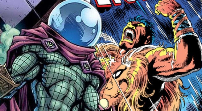 spider-man homecoming spinoff kraven the hunter and mysterio