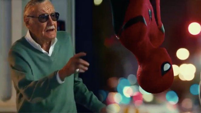 spider man homecoming stan lee