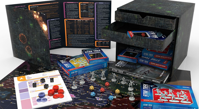 Stark Trek Adventures RPG Limited Edition Borg Cube Boxed Set 03