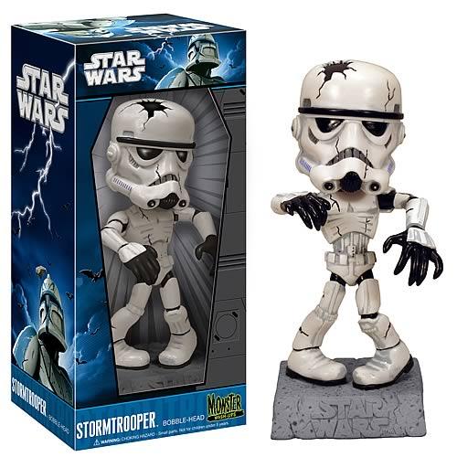 stormtrooper bobblehead skeleton funko