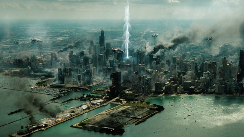 Transformers 3 Battle of Chicago