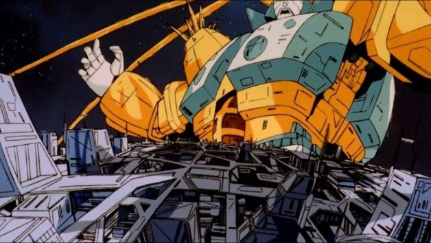 Unicron-attacks-Cybertron