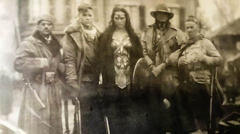 Wonder Woman 1918 WWI Photo DCEU