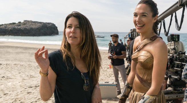 wonder woman director patty jenkins teases sequel fun
