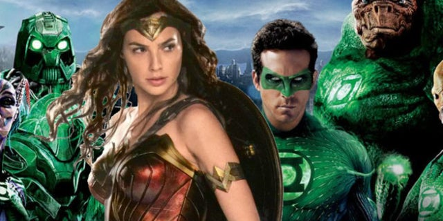 wonder woman eclipses green lantern total gross in opening weekend