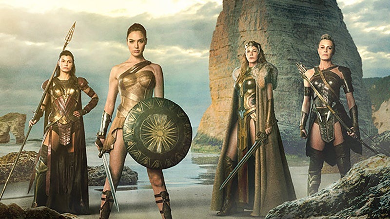 Wonder Woman Movie Amazon Origin Story Mother Boxes