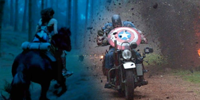 Wonder Woman Movie Captain America First Avenger Battle Scenes