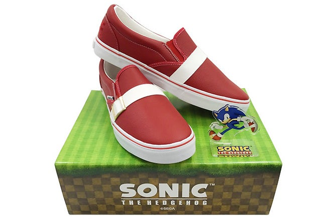 Sonic The Hedgehog S Iconic Red Kicks Can Now Be Bought For Real