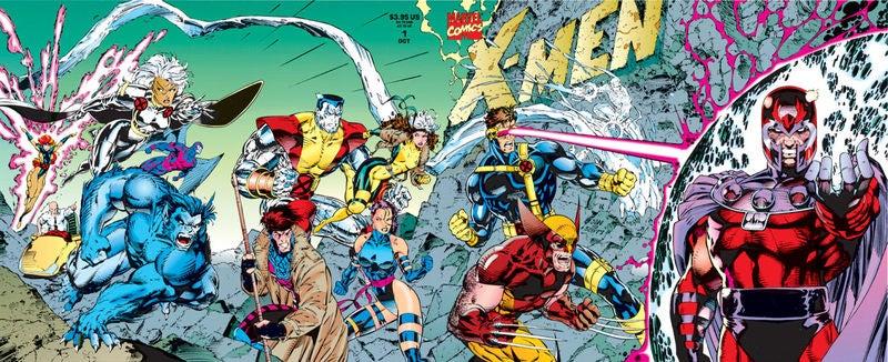 X-Men Vol 2 1 Full Gatefold Cover