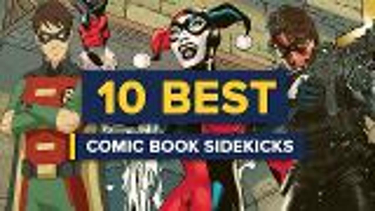 10 Best Comic Book Sidekicks screen capture