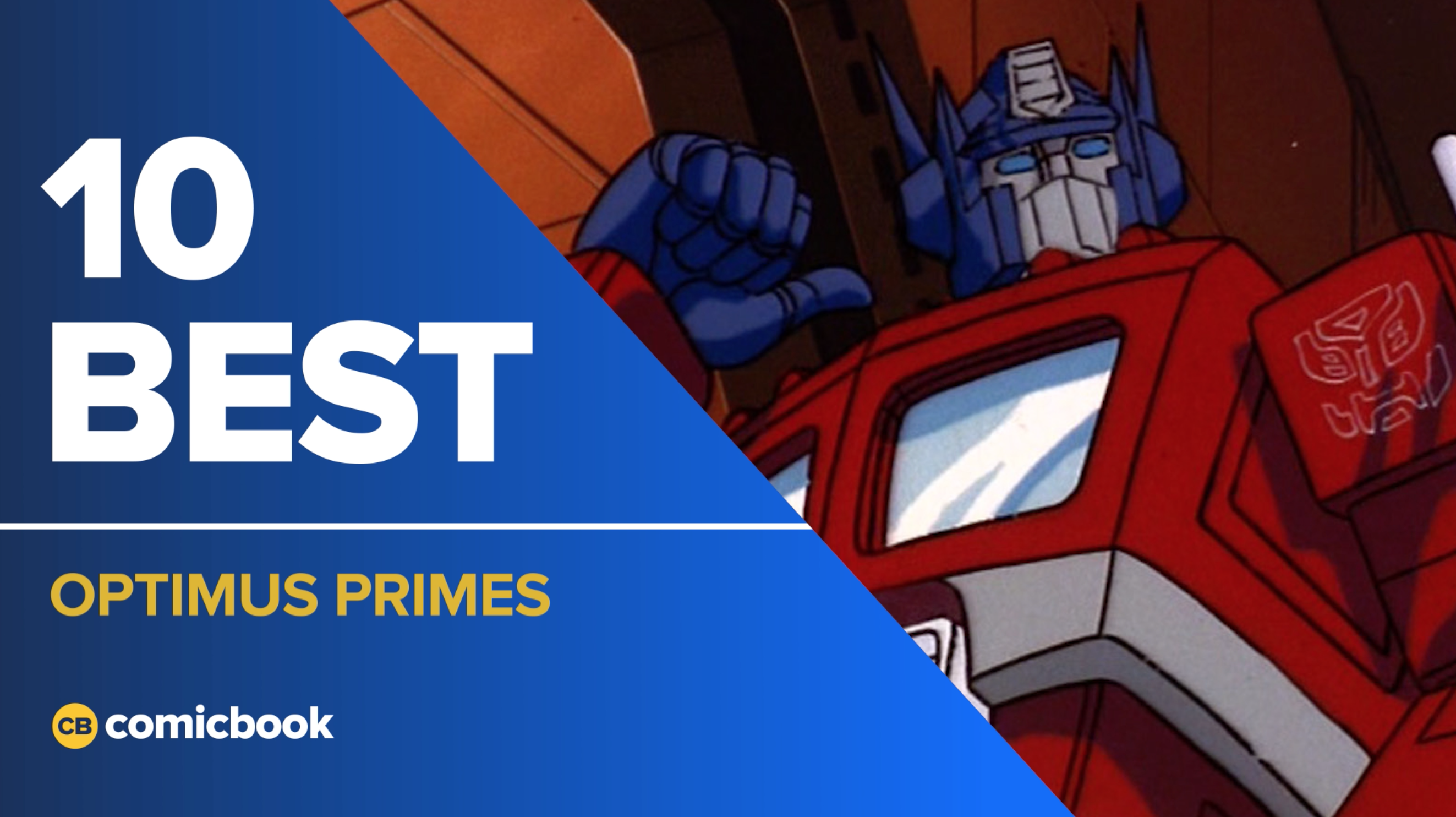 10 Best Optimus Primes screen capture