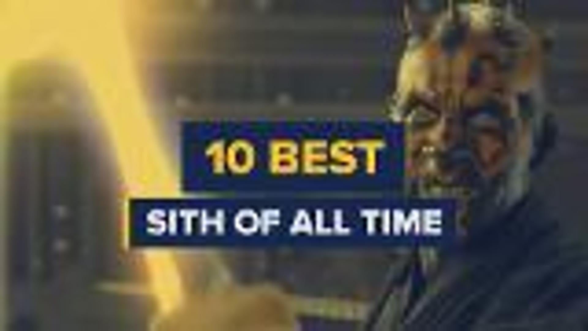 10 Best Sith of All Time screen capture