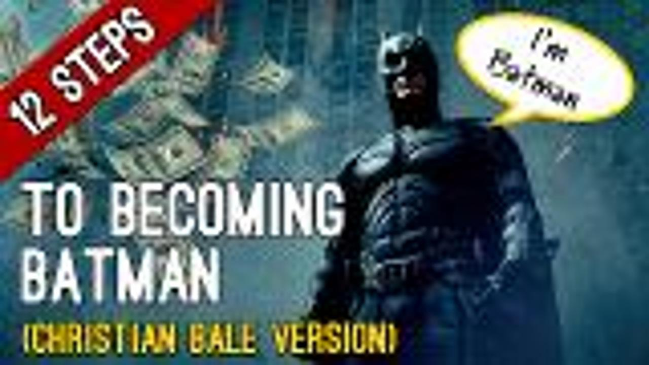 12 Steps to Becoming Batman screen capture