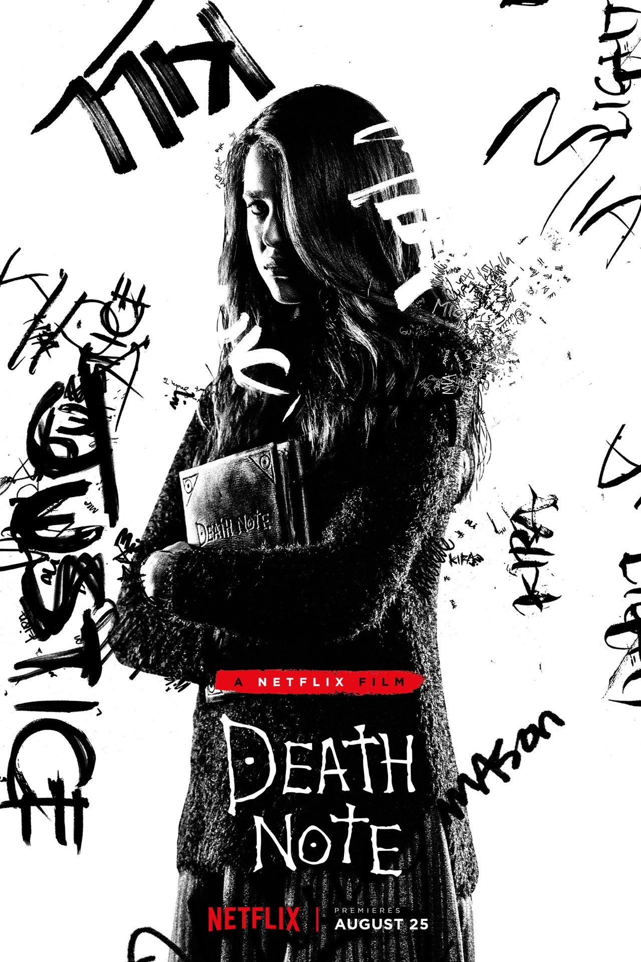 1280 death note poster margaret qualley
