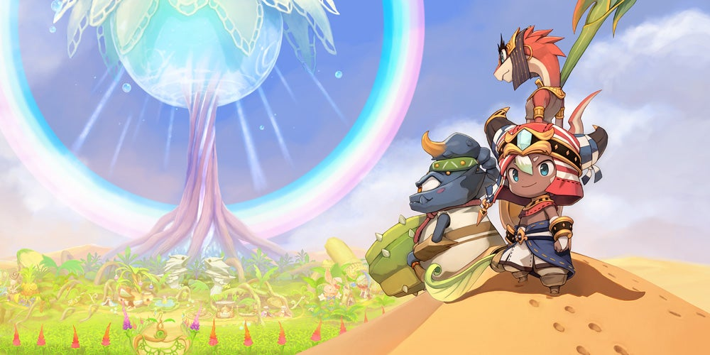 3DS EverOasis E32017 illustration 01