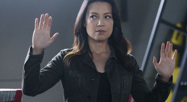 Agent of SHIELD Ming-Na Wen Injury