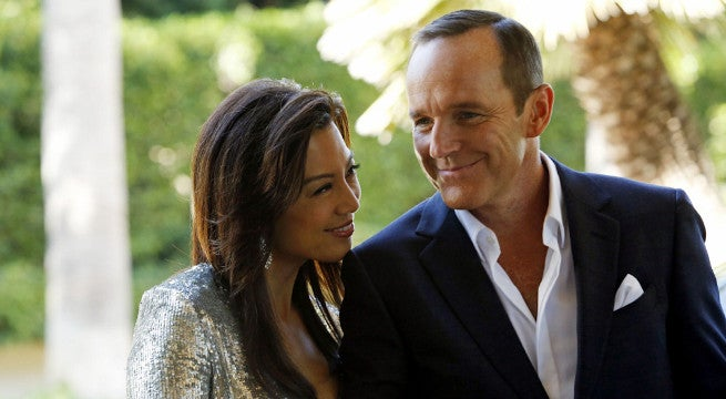 agents of shield ming na wen melinda may phil coulson romance