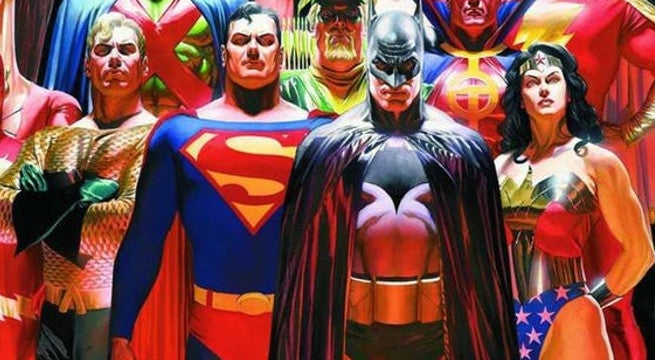 ALex Ross Justice League Poster