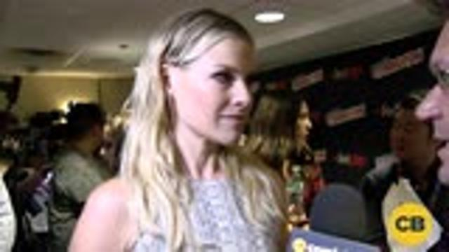 Ali Larter of Resident Evil: The Final Chapter at the New York Comic Con screen capture