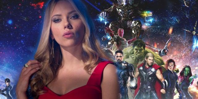 Avengers Infinity War Black Widow Blonde