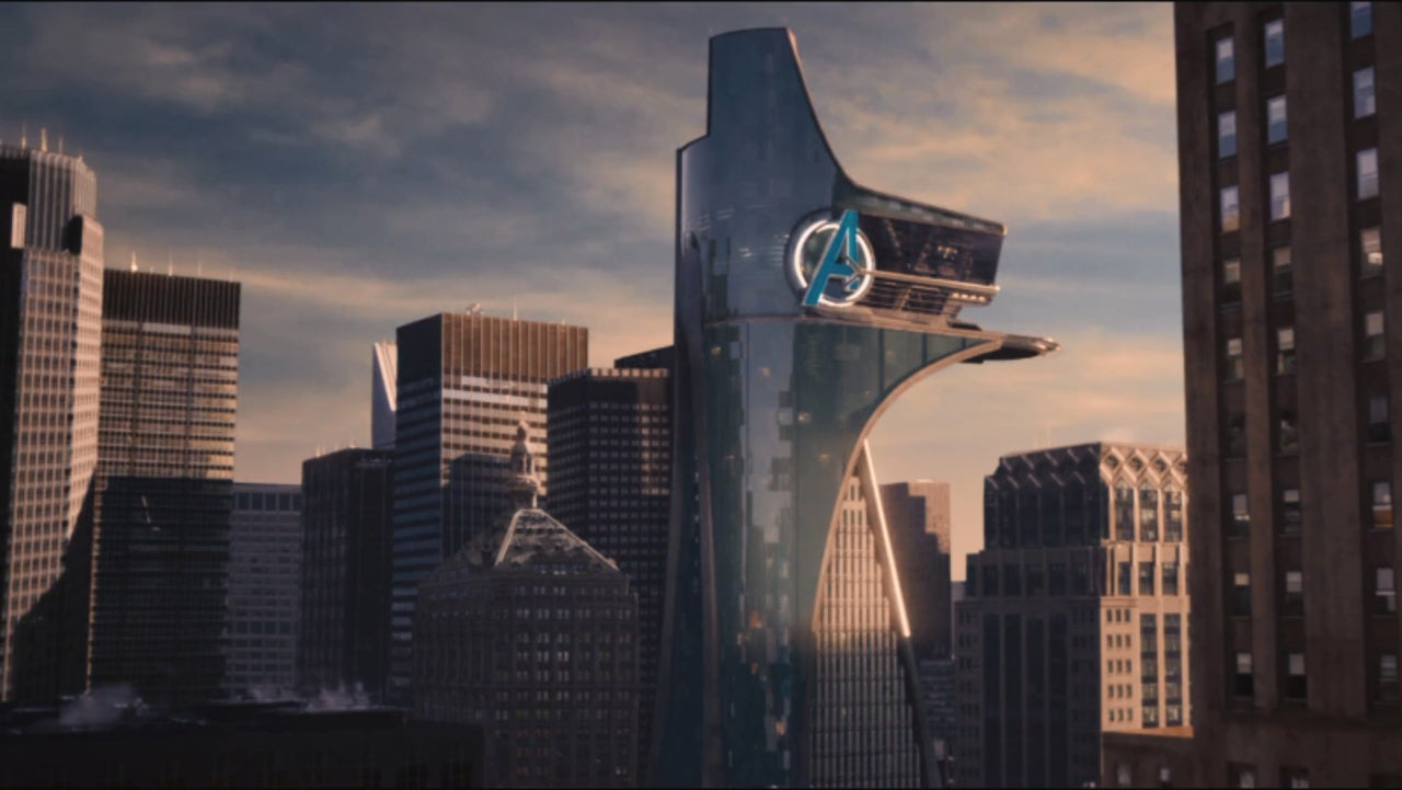 avengers infinity war trailer features major change to avengers tower