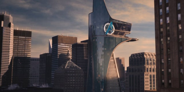 Avengers Tower in Spider-Man Homecoming