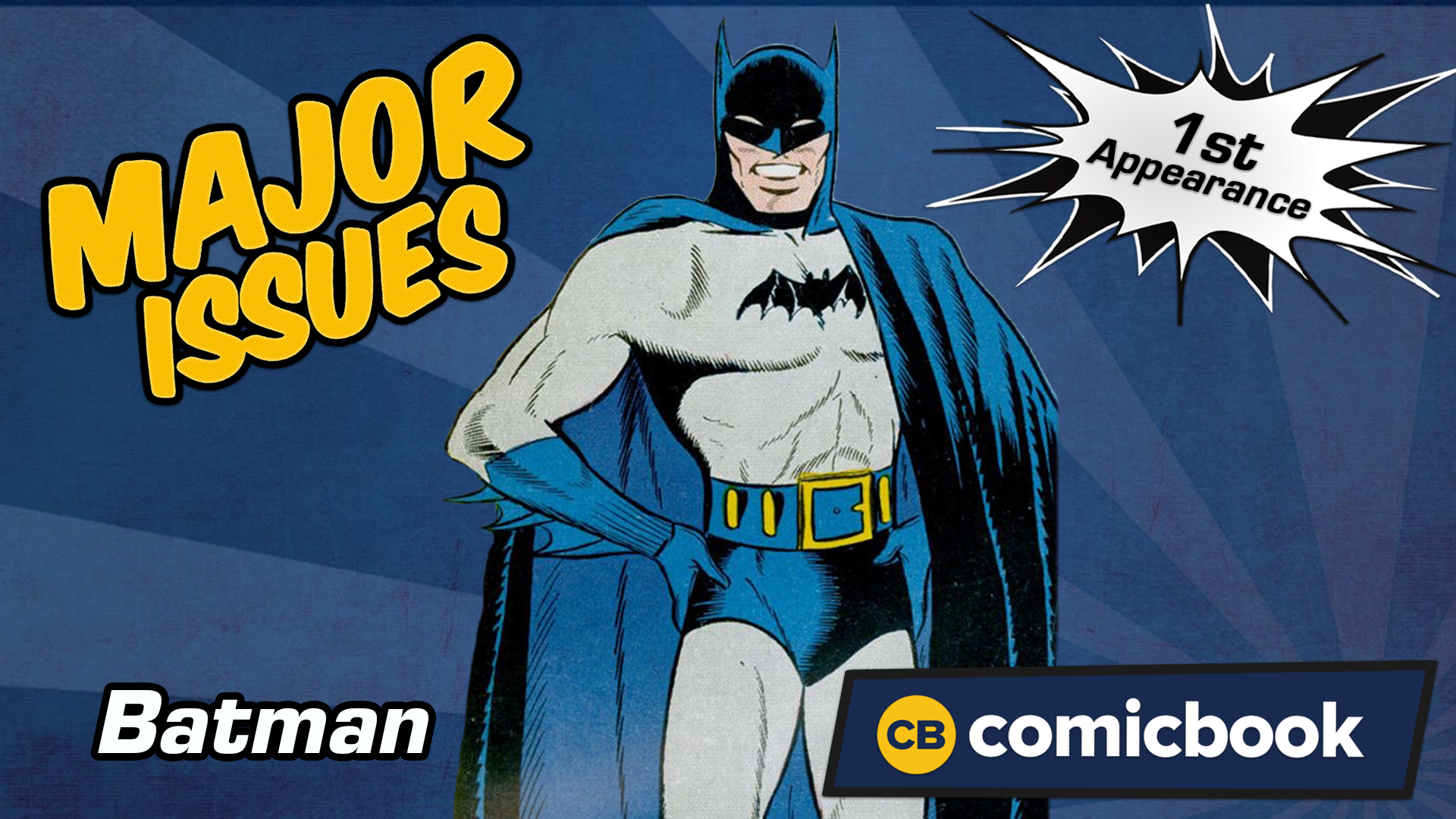 Batman's First Appearance - Major Issues screen capture
