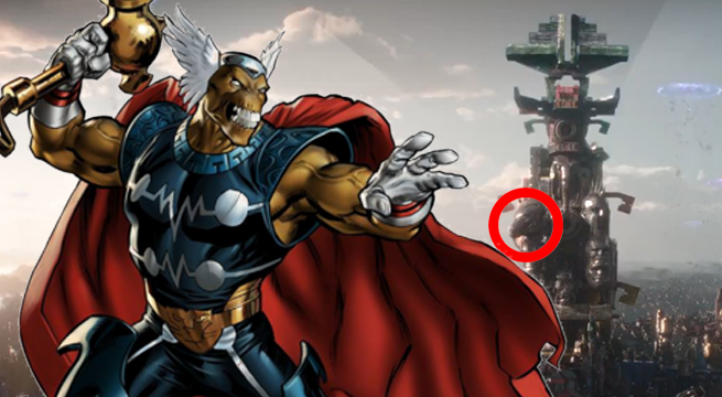 beta ray bill thor ragnarok easter egg