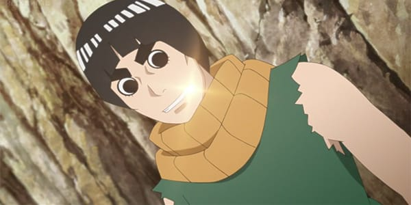 boruto naruto rock lee