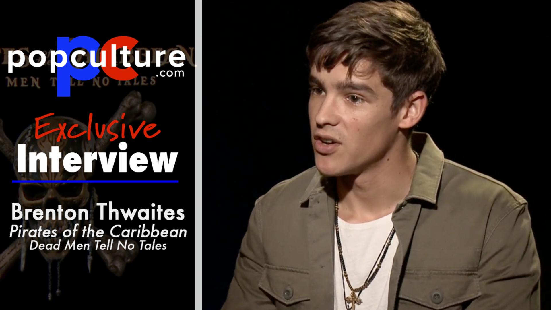 Brenton Thwaites Talks Pirates 5 screen capture