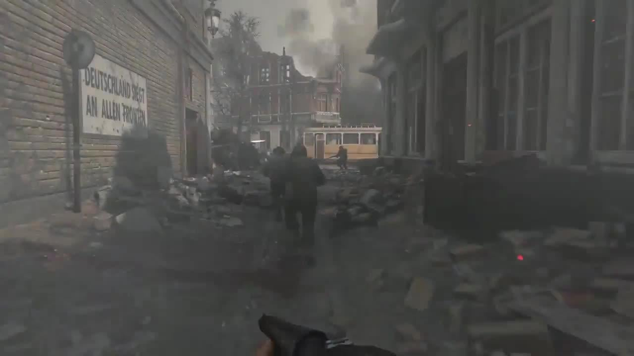 Call of Duty: WWII - Multiplayer Trailer screen capture