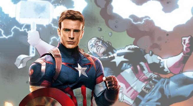 Captain America Thors Hammer