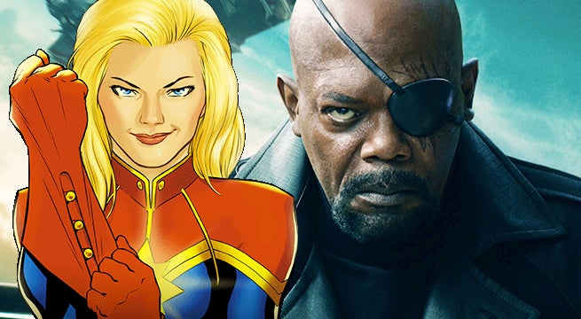 captain marvel nick fury