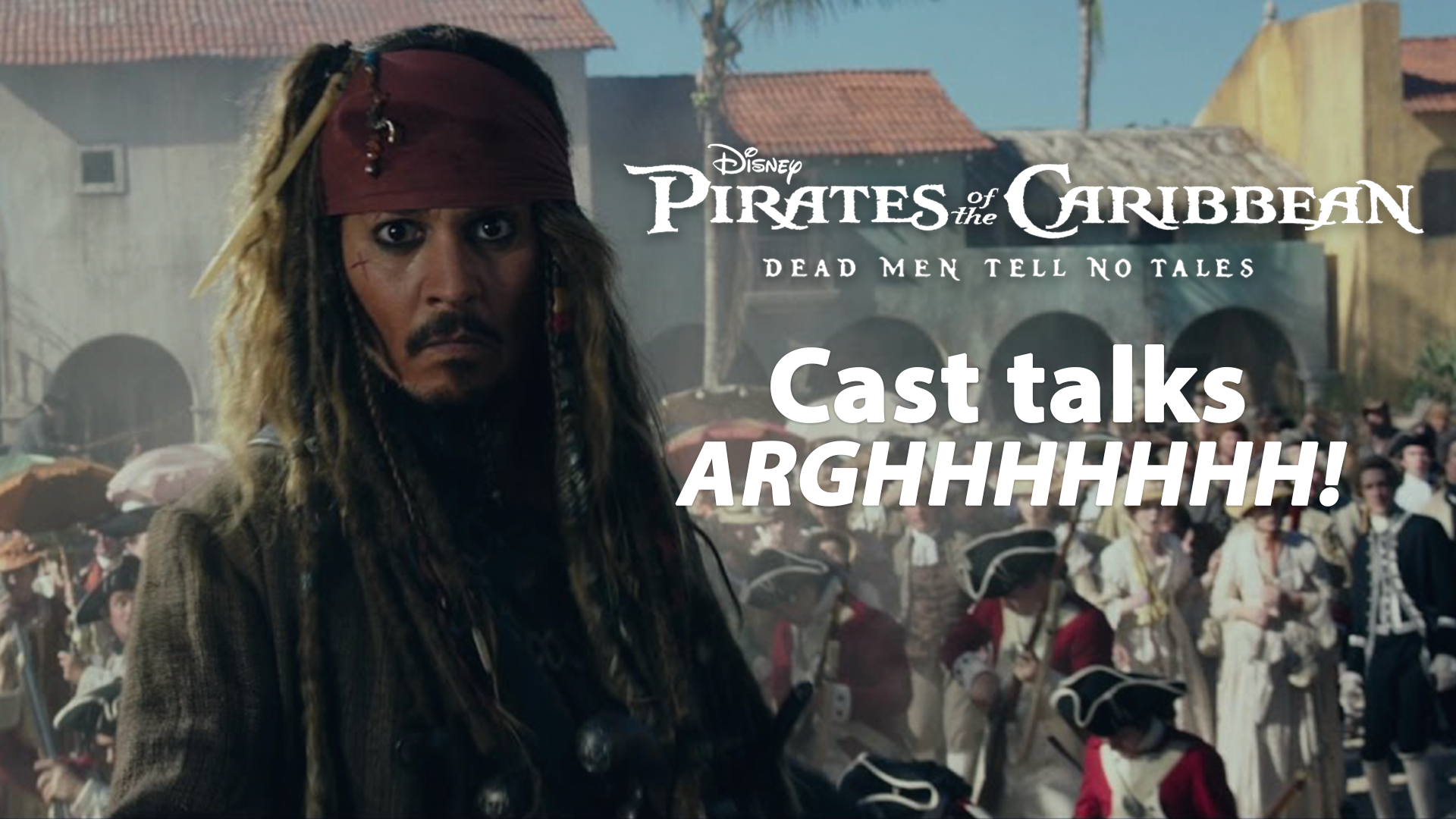 Cast of Pirates 5 Talk Arrrgh screen capture