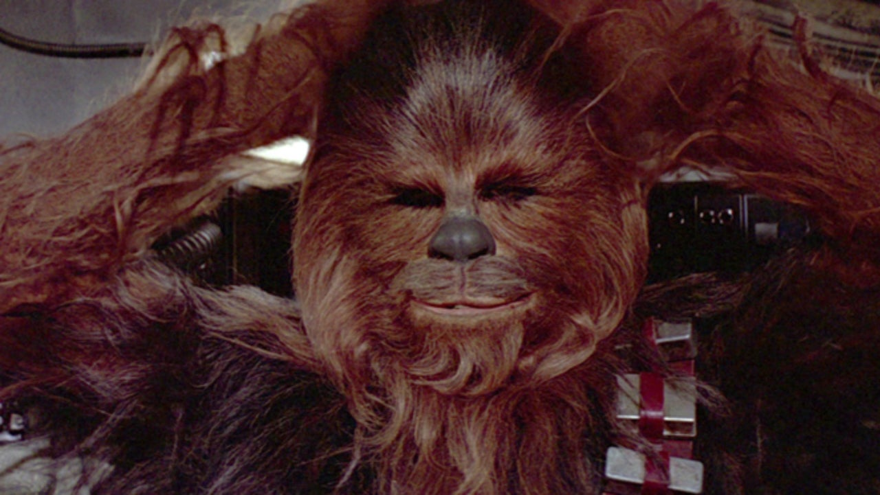 Star Wars: Mark Hamill Shares Rare Footage of Chewbacca's Pre-Translated Dialogue