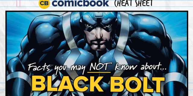 ComicBook Cheat Sheet: Black Bolt screen capture