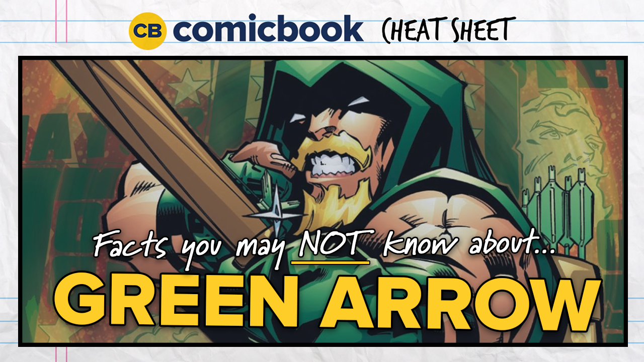 Comicbook Cheat Sheet: Green Arrow screen capture