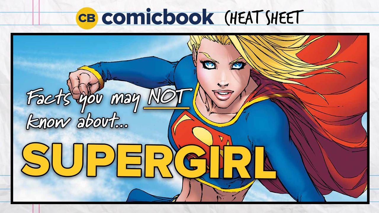 Comicbook Cheat Sheet: Supergirl screen capture