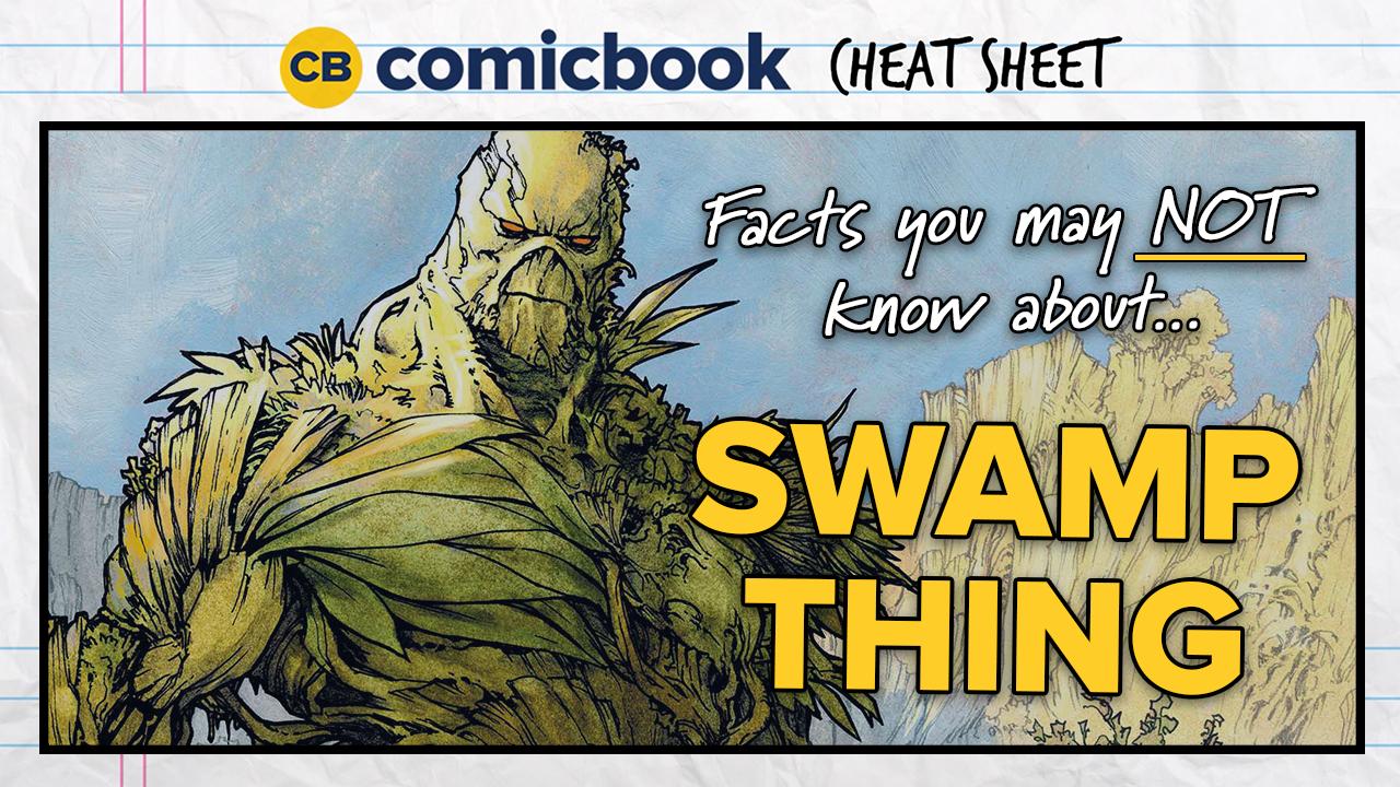 ComicBook Cheat Sheet: Swamp Thing screen capture