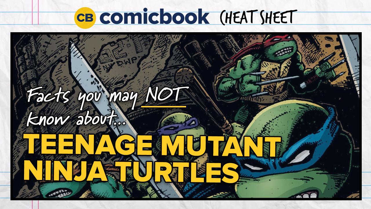 ComicBook Cheat Sheet: Teenage Mutant Ninja Turtles screen capture