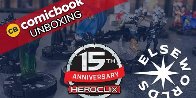 DC Comics HeroClix 15th Anniversary Elseworlds - ComicBook Unboxing screen capture
