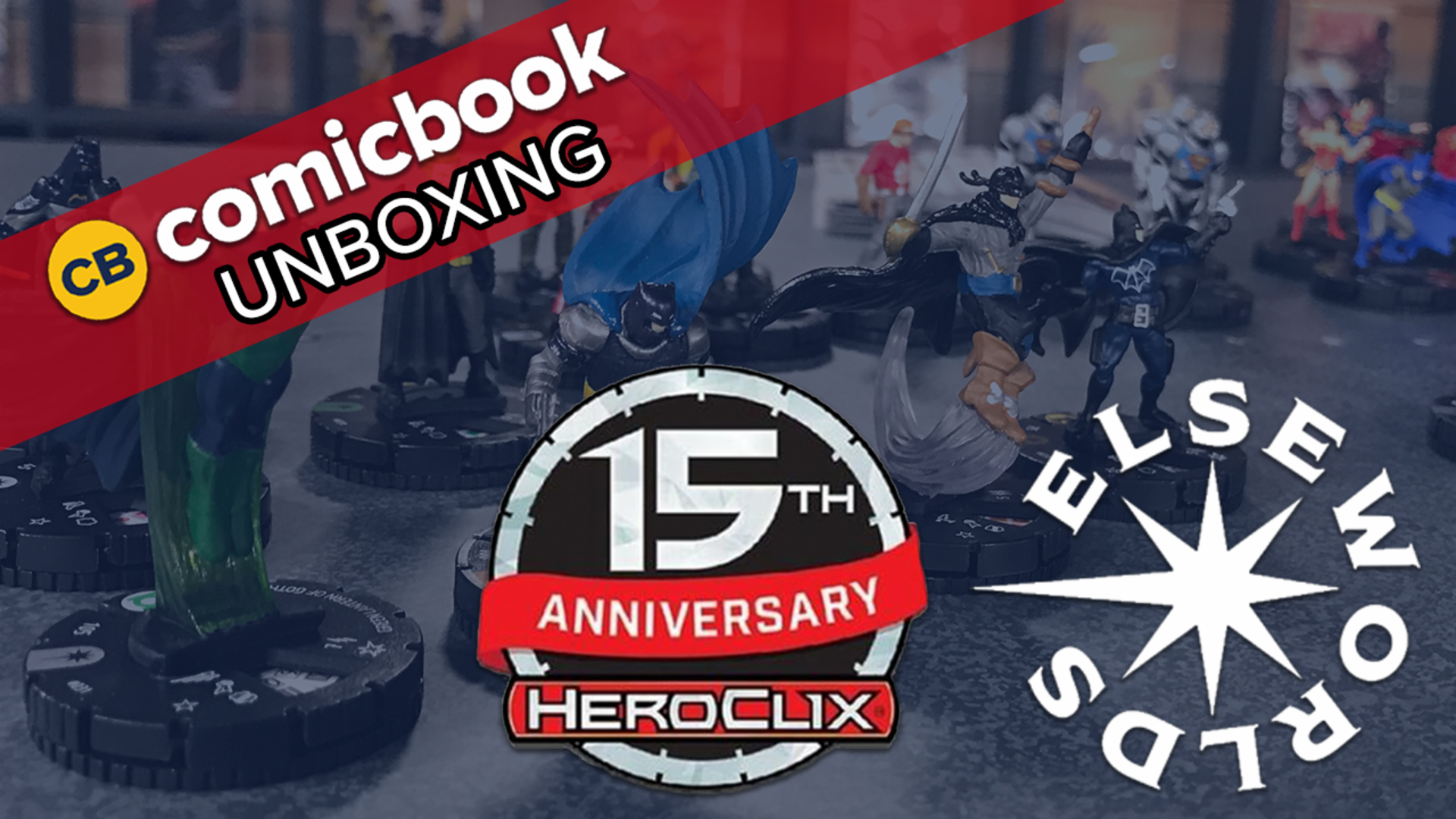 DC Comics HeroClix 15th Anniversary Elseworlds - ComicBook Unboxing screen capture