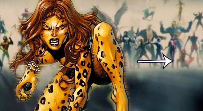 dceu intro cheetah